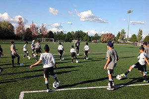 Football clinic Canada