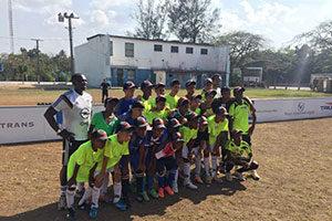 Voetbalclinic Cuba